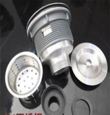 廚房洗菜盆下水加長絲牙304不銹鋼拖把池下水器 陶瓷洗衣水槽