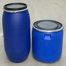 150升塑料桶150L法蘭桶帶鐵箍150公斤塑料桶