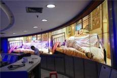 江西展覽展示高清曲面液晶拼接墻