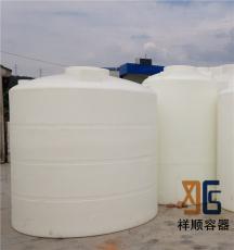 8立方耐曬塑料桶 8噸廢水沉淀桶