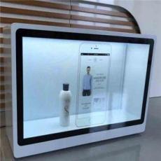 蘇州宜成多尺寸透明液晶屏3D智能觸摸互動展示柜可定制