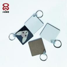 定制促銷熱轉印MDF正方形鑰匙牌