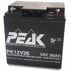 法國PEAK蓄電池PK12V18 12V18AH廣播臺站