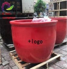 景德鎮陶瓷泡澡缸生產廠家 專業生產泡澡缸紅色泡澡大缸
