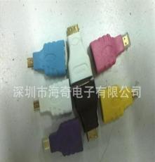 廠家直銷 HDMI高清轉接頭,支持混批,保質量