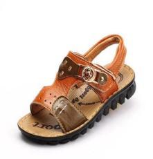 2014新款夏季真皮儿童沙滩鞋 韩版男童凉鞋 头层牛皮儿童鞋批发