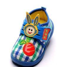 2014秋季新款儿童布鞋小兔子软底宝宝鞋 厂家童鞋批发
