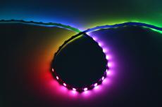 工程款4mm板寬幻彩燈帶內置IC60燈
