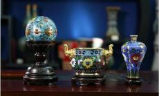 中國歷代景泰藍傳世九珍之元明清三件套