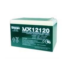 UNIKOR聯合蓄電池MX12100 12V10AH信號系統