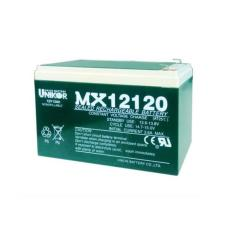 UNIKOR閥控式蓄電池MX12170 12V17AH船舶