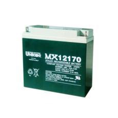 UNIKOR聯合蓄電池MX12400 12V40AH照明電源