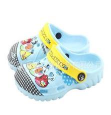 愤怒的小鸟儿童洞洞鞋中童包头花园鞋可预约贴牌加工定制 081-1