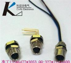 I/O總線通訊插座-M8焊線式插座,3孔4孔5孔