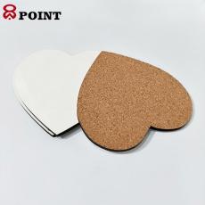 热转印中纤板杯垫深圳工厂高质量快速定制