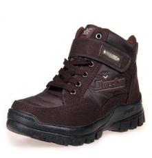 小額批發 高檔橡膠底男式保暖棉鞋 防滑內毛絨秋冬精品棉鞋