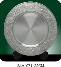武漢純錫紀念盤設計定做獎盤生產廠家