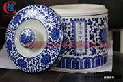 景德鎮陶瓷膏方罐子青花瓷膏方瓶