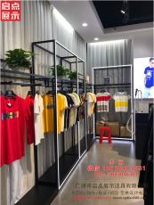 这样做服装货架陈列 广州新款男装店货架