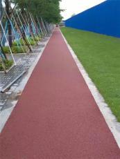 永盛東莞彩色瀝青路面-透水瀝青路面施工