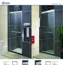 廠家直銷鋼化玻璃淋浴房 大量批發浴室鋁合金淋浴屏