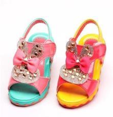 新款凉鞋 童鞋批发 厂家直销 女童凉鞋 公主鞋