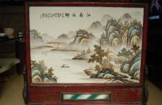 楊平瓷板畫去哪鑒定怎么拍賣價格多少