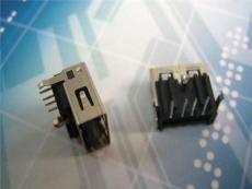 特殊款USB接口 卧插式三只脚DIP反向胶芯 端子加高型