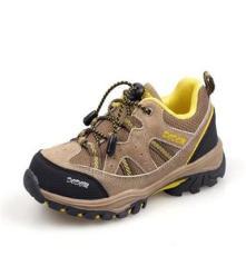 品牌儿童户外鞋批发 新款耐磨防滑登山鞋 反毛皮正品户外鞋童鞋