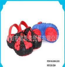 供应厂家直销蜘蛛侠系列EVA童鞋2013年热销款蜘蛛侠系列EVA小童鞋