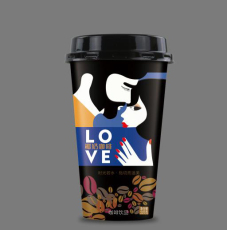 椰奶咖啡320ML饮料杯装ODM贴牌加工15杯