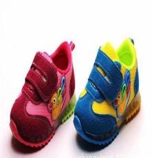 2014秋季新款童鞋 韩版透气网布带灯婴儿1-3岁男女童运动鞋