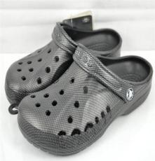 新款男士休闲洞洞鞋 旅游花园鞋