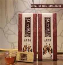 湖南安化黑茶 怡清源 黑茶茯磚 金花茯磚茶 318克茯茶磚茶葉