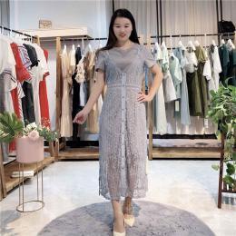 点裳2020年宽松性感夏季新款连衣裙
