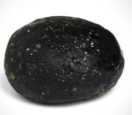 五彩玻璃陨石如何鉴定估价
