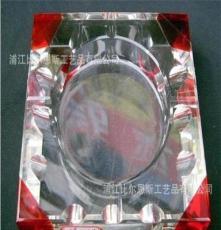 多顏色水晶拼角煙灰缸煙缸 廠家直銷 多尺寸四方拼角煙灰缸