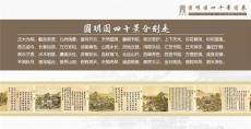 圆明园四十景图卷绢本