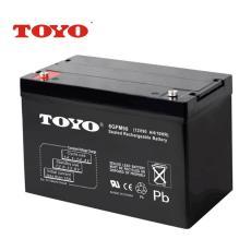6GFM100东洋TOYO蓄电池12V100AH电动工具