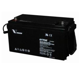 VISION铅酸蓄电池6FM24免维护12V24AH报备