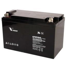 VISION铅酸蓄电池6FM38免维护12V38AH项目