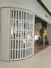 上海商城水晶折叠门 遥控水晶卷帘门定做安