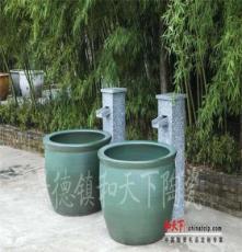 度假村陶瓷洗浴大缸厂家直销 温泉专用独立式泡澡缸 极乐汤大水缸