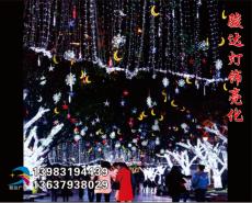 重庆节庆LED灯饰  成都幕墙灯饰画工程  贵