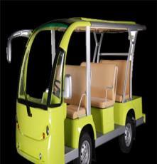 廠家供應益高品牌11座電動觀光車景區半敞開電動觀光車