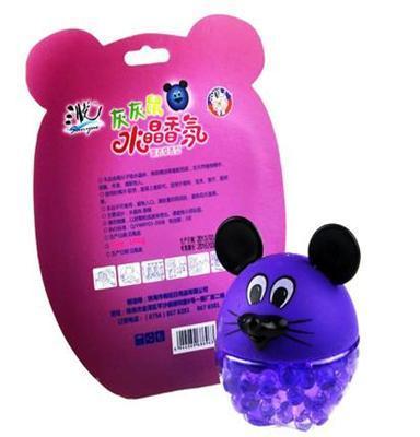 居家消臭芳香清新消去异味生活品儿童水晶动漫香氛小紫鼠