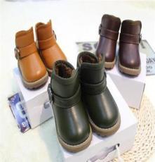 冬款保暖 小童男童女童中筒高筒雪地靴保暖鞋棉鞋 外贸童鞋批发