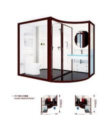 那波利整体浴室配套设计个性化,置物架一体成型