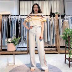 布歌玛2020年春款休闲裤品牌折扣女装货源