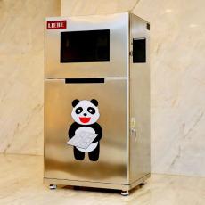 自动分餐机风靡职工餐厅